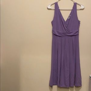 Old Navy pastel purple sleeveless dress